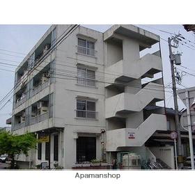 富山県富山市、稲荷町駅徒歩13分の築32年 4階建の賃貸アパート