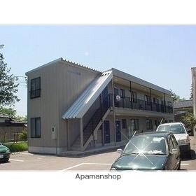富山県富山市の築17年 2階建の賃貸アパート