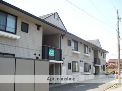 富山県富山市、南富山駅徒歩16分の築20年 2階建の賃貸アパート