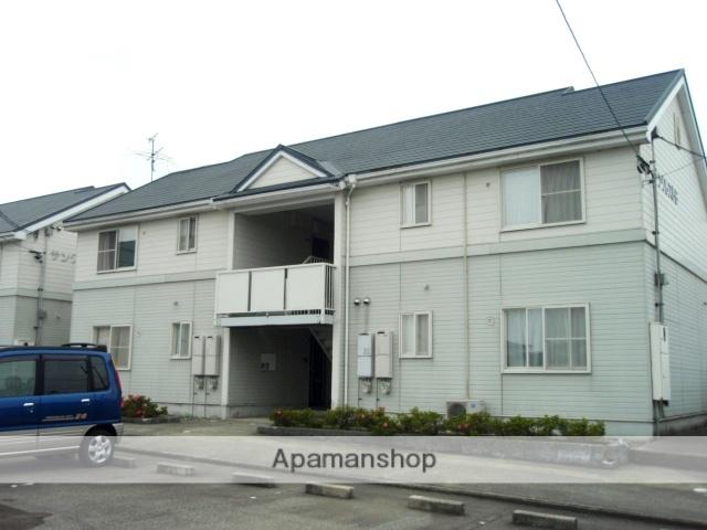 富山県富山市、朝菜町駅徒歩13分の築22年 2階建の賃貸アパート