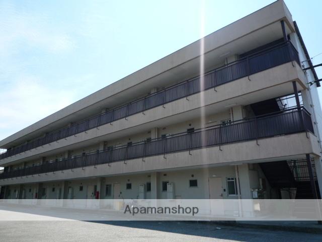 富山県富山市の築44年 3階建の賃貸マンション