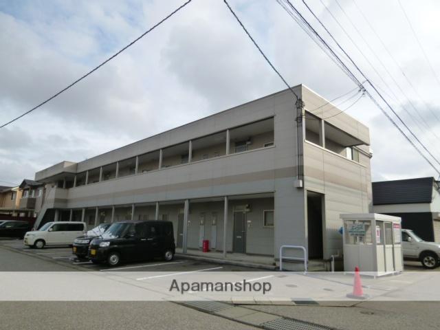 富山県富山市の築11年 2階建の賃貸アパート
