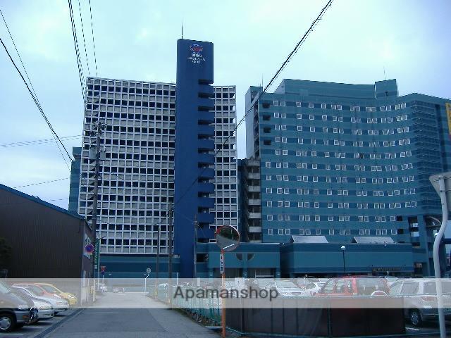 富山県富山市、電気ビル前駅徒歩7分の築21年 14階建の賃貸マンション