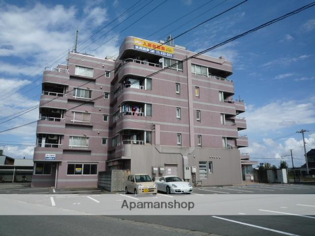 富山県富山市、東新庄駅徒歩10分の築30年 5階建の賃貸マンション