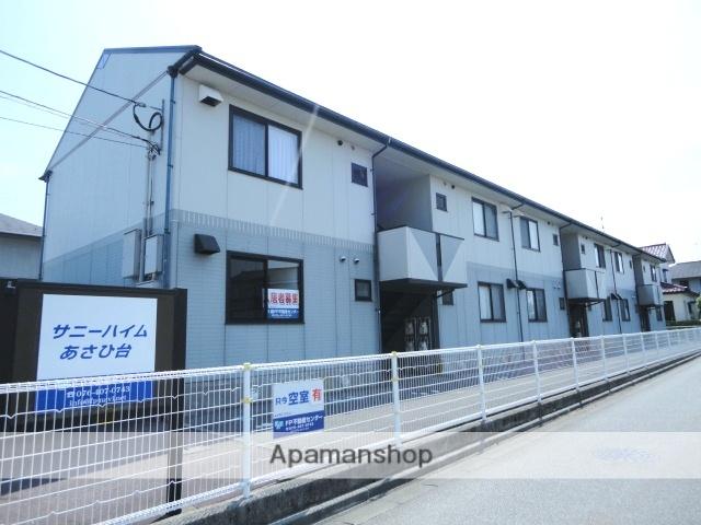 富山県富山市、南富山駅前駅徒歩12分の築20年 2階建の賃貸アパート