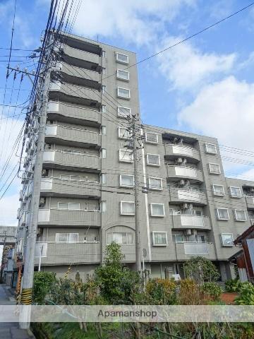 富山県富山市、稲荷町駅徒歩7分の築25年 10階建の賃貸マンション