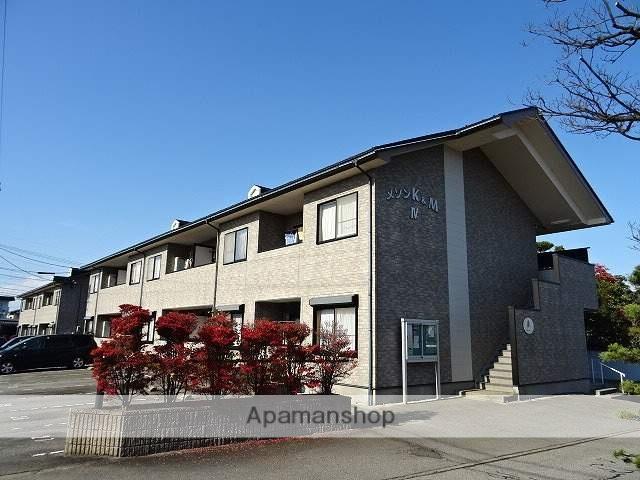 富山県富山市、朝菜町駅徒歩18分の築15年 2階建の賃貸アパート