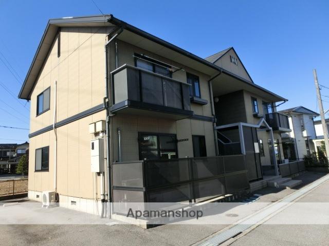 富山県富山市の築16年 2階建の賃貸アパート