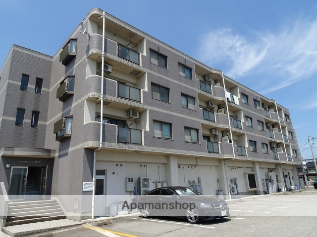 富山県富山市、南富山駅徒歩14分の築18年 4階建の賃貸マンション