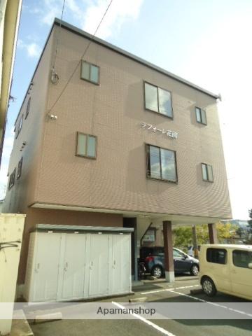 富山県富山市の築15年 3階建の賃貸アパート