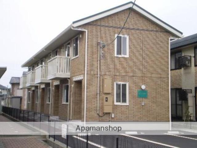 富山県富山市、新庄田中駅徒歩17分の築8年 2階建の賃貸テラスハウス