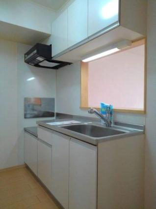 ウィステリアスタイル[2LDK/61.07m2]のキッチン