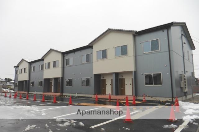 富山県富山市、東新庄駅徒歩18分の築2年 2階建の賃貸アパート