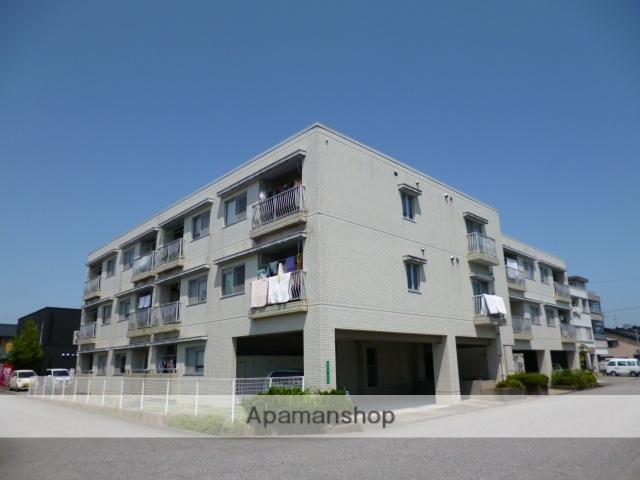 富山県富山市、大泉駅徒歩10分の築27年 3階建の賃貸マンション