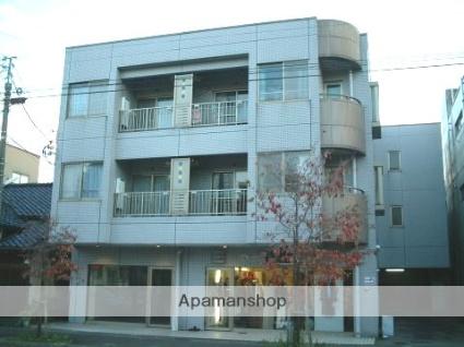 富山県富山市、上本町駅徒歩3分の築26年 3階建の賃貸マンション