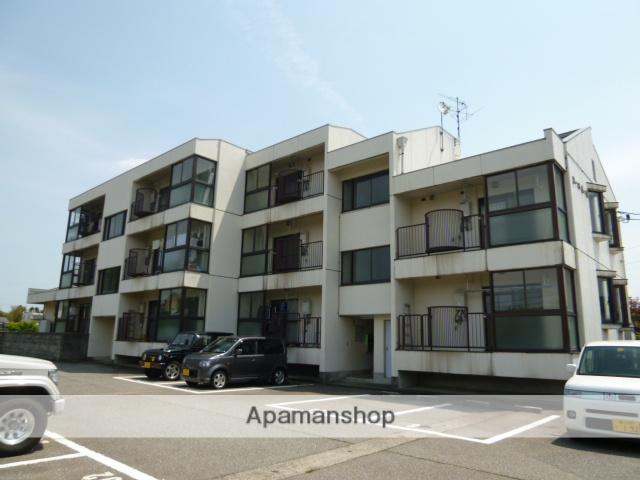 富山県富山市、南富山駅徒歩17分の築30年 3階建の賃貸マンション