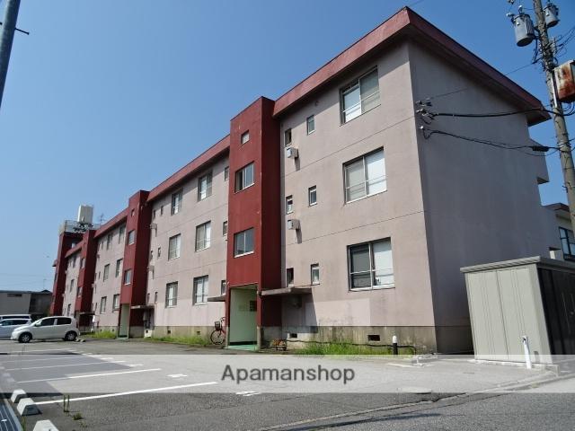 富山県富山市、南富山駅徒歩14分の築37年 3階建の賃貸マンション