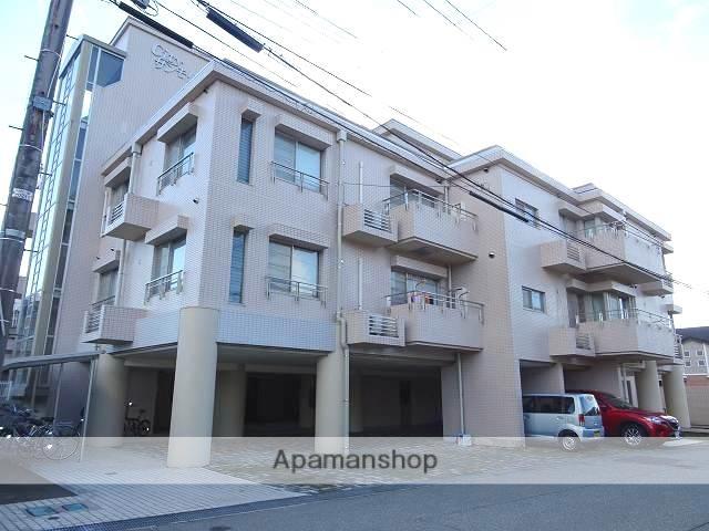 富山県富山市、小泉町駅徒歩12分の築28年 4階建の賃貸マンション
