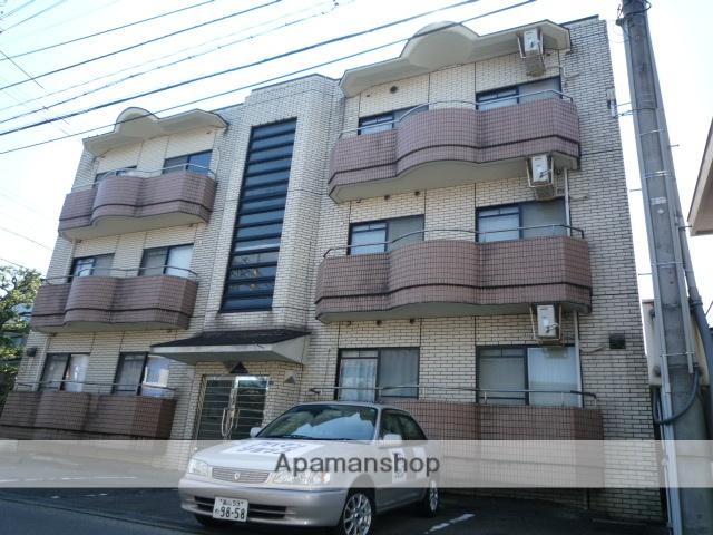 富山県富山市、稲荷町駅徒歩5分の築27年 3階建の賃貸マンション