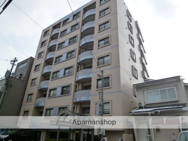 富山県富山市、西町駅徒歩9分の築22年 8階建の賃貸マンション
