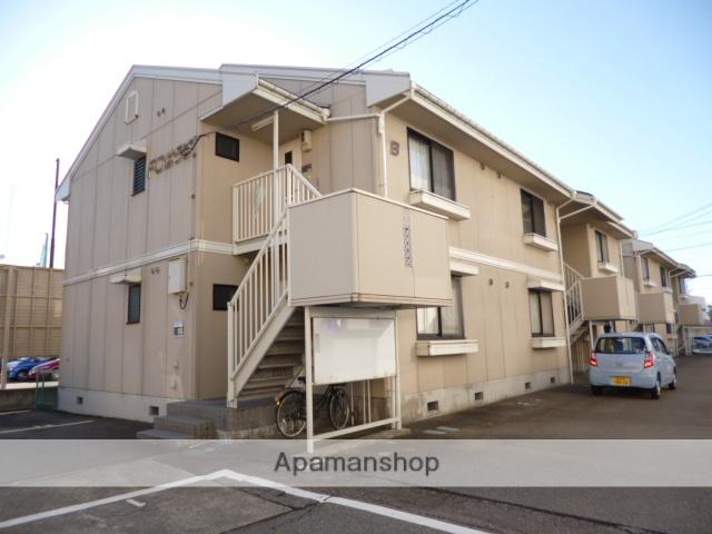 富山県富山市、南富山駅徒歩11分の築25年 2階建の賃貸アパート