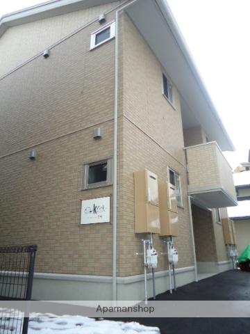 富山県富山市、南富山駅徒歩13分の築5年 2階建の賃貸アパート