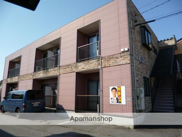 富山県富山市、東新庄駅徒歩8分の築17年 2階建の賃貸アパート