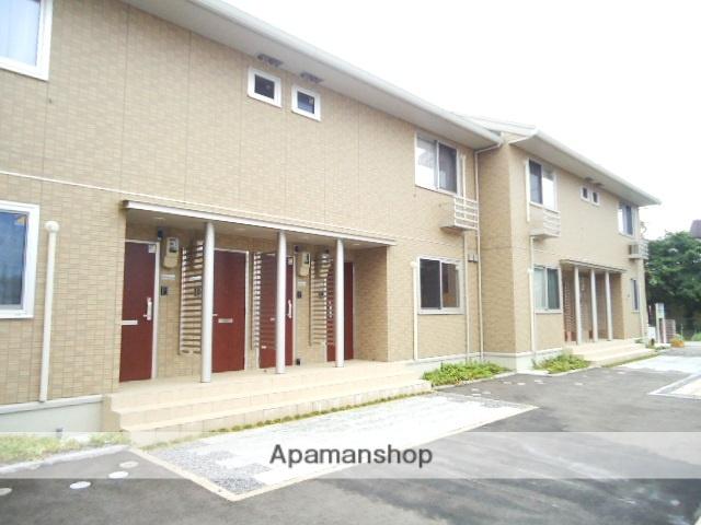 富山県富山市、朝菜町駅徒歩22分の築5年 2階建の賃貸アパート