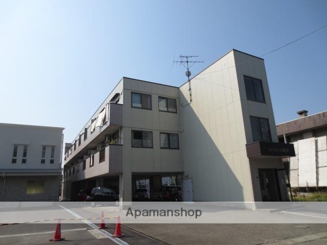 富山県富山市、小泉町駅徒歩9分の築28年 3階建の賃貸アパート