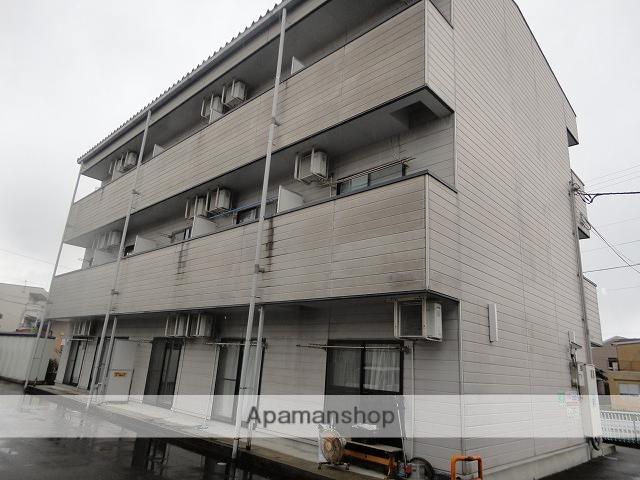 富山県富山市、南富山駅徒歩10分の築18年 3階建の賃貸アパート