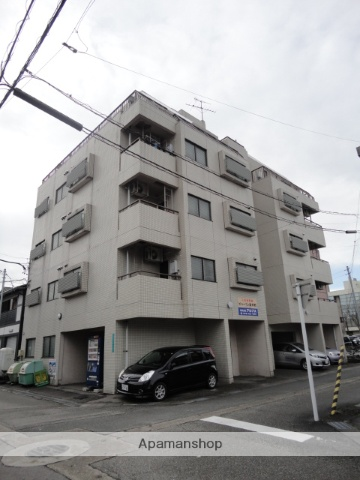 富山県富山市、上本町駅徒歩5分の築27年 5階建の賃貸マンション