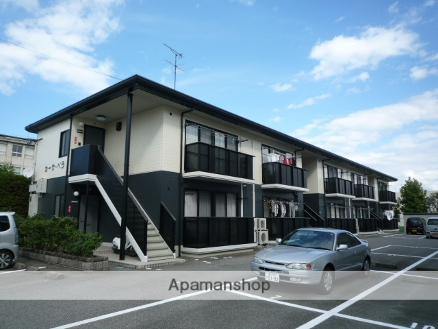 富山県富山市、越中荏原駅徒歩10分の築19年 2階建の賃貸アパート