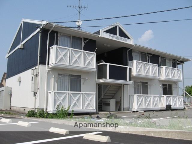 富山県富山市、南富山駅徒歩16分の築24年 2階建の賃貸アパート