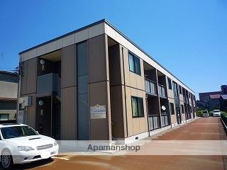 富山県高岡市、片原町駅徒歩5分の築13年 2階建の賃貸アパート