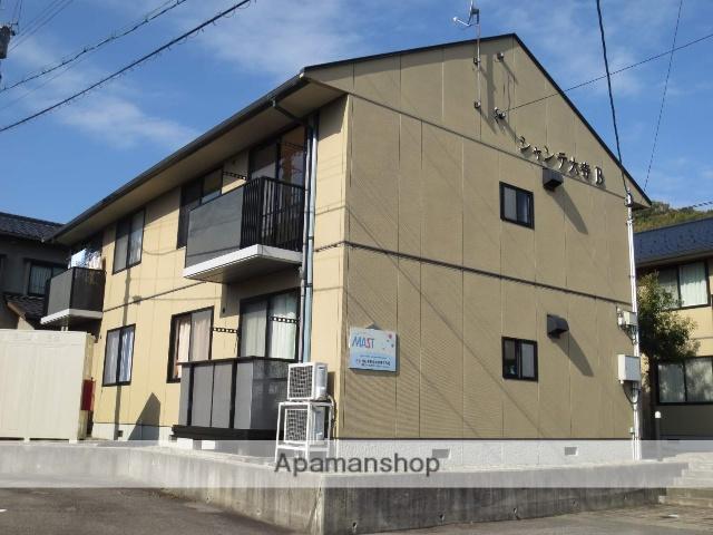 富山県高岡市、伏木駅徒歩30分の築18年 2階建の賃貸アパート