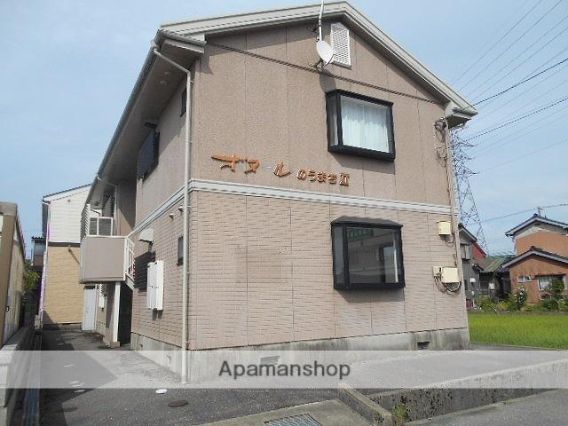 富山県高岡市、能町駅徒歩12分の築22年 2階建の賃貸アパート