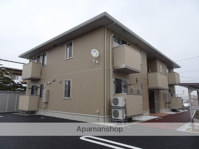 富山県高岡市、射水市新湊庁舎前駅徒歩20分の新築 2階建の賃貸アパート