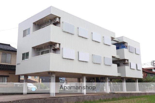 富山県高岡市、越中中川駅徒歩9分の築28年 3階建の賃貸マンション