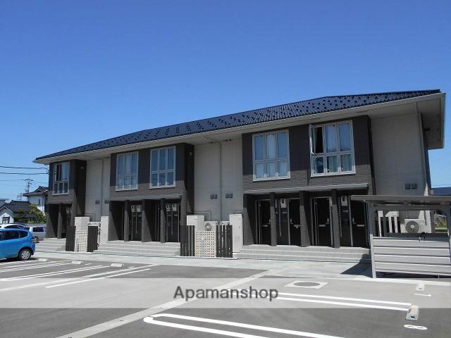 富山県高岡市、戸出駅徒歩10分の新築 2階建の賃貸アパート