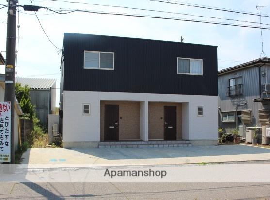 富山県高岡市、新高岡駅徒歩26分の新築 2階建の賃貸テラスハウス