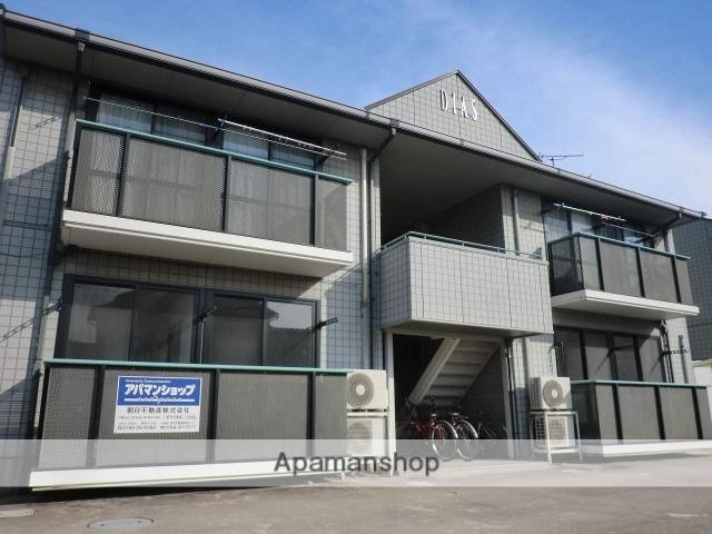 富山県高岡市、六渡寺駅徒歩15分の築20年 2階建の賃貸アパート