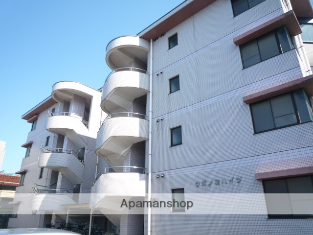 富山県富山市、堀川小泉駅徒歩5分の築28年 4階建の賃貸マンション