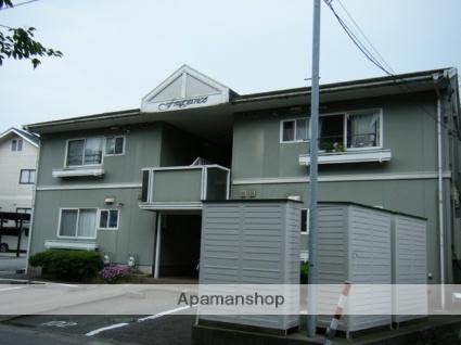富山県富山市、呉羽駅徒歩5分の築27年 2階建の賃貸アパート