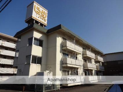 富山県富山市、西富山駅徒歩8分の築33年 3階建の賃貸マンション
