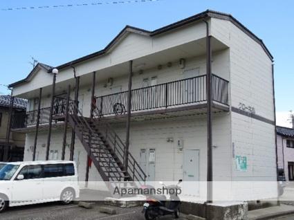 富山県富山市、東富山駅徒歩15分の築24年 2階建の賃貸アパート