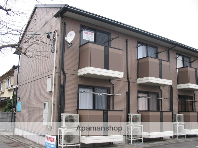 富山県富山市、上堀駅徒歩2分の築16年 2階建の賃貸アパート