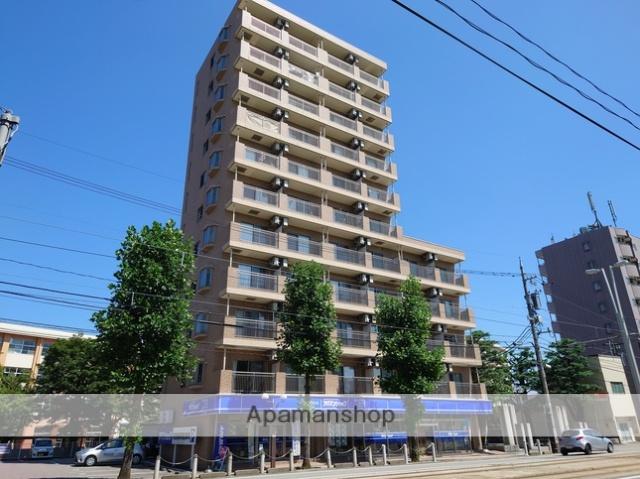 富山県富山市、安野屋駅徒歩16分の築10年 11階建の賃貸マンション