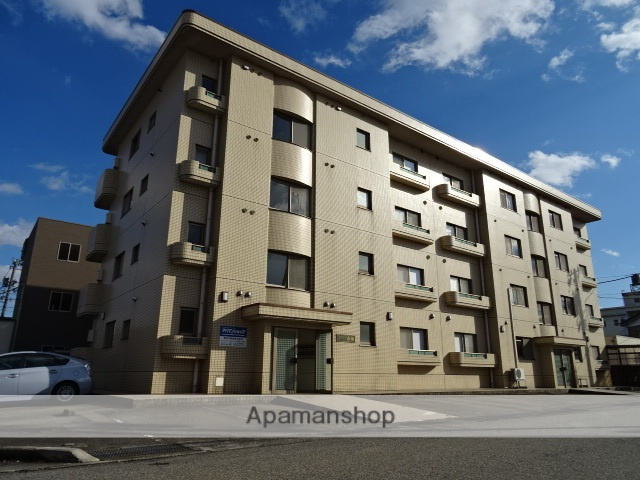富山県富山市、小泉町駅徒歩23分の築30年 4階建の賃貸マンション
