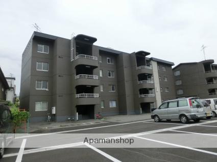 富山県富山市、安野屋駅徒歩13分の築36年 4階建の賃貸マンション