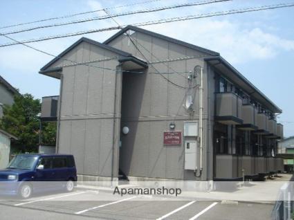 富山県富山市、富山駅徒歩17分の築18年 2階建の賃貸アパート